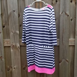 Lilly Pulitzer Stripe Dress XL